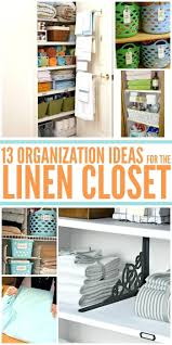 Closet Organization Ideas Pinterest by Linen Closet Storage U2013 Aminitasatori Com
