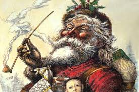 santa claus picture a pictorial history of santa claus the domain review