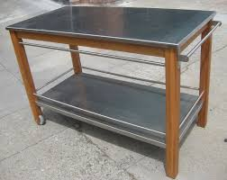 Kitchen Island Stainless Steel by Kitchen Stainless Steel Kitchen Cart Inside Pleasant Stainless