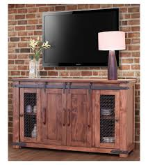 Distressed Barn Door by Tv Stands Corner Tv Console With Sliding Barn Doors All Ready