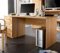 Pc Tisch Massivholz Schreibtisch 160x70cm Kernbuche Geölt Büro Pc Tisch