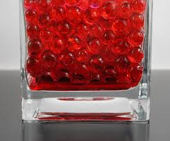 Water Beads Centerpieces Red Water Beads Sbb Midwest Company