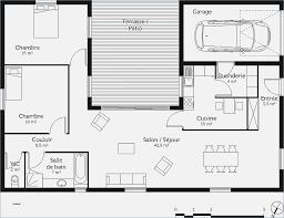 plan maison en l plain pied 3 chambres plan de maison 3 chambres mobokive org