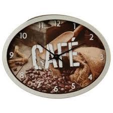 pendule cuisine prix pendule de cuisine grain de café gris pas cher