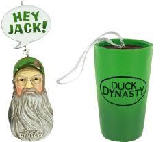 duck dynasty ornaments fear the beards duck