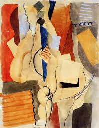 smoking in the shelter 1918 roger de la fresnaye wikiart org