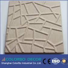 Decorative Acoustic Panels China Auditorium Cinema Polyester Fiber Decorative Acoustic Panels