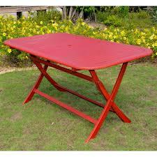 Acacia Wood Outdoor Furniture by International Caravan Chelsea Acacia Painted Folding Patio Dining