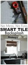 Kitchen Backsplash Peel And Stick by Top 25 Best Peel Stick Backsplash Ideas On Pinterest Kitchen