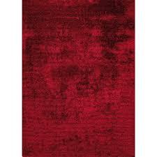 tappeto moderno rosso tappeto moderno shagghy india cm200x200 rosso