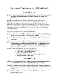 Sample Mainframe Resume by Adl 08 Ver2 Corporate Governance Governance