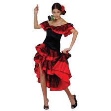 ladies spanish senorita flamenco dance halloween costume