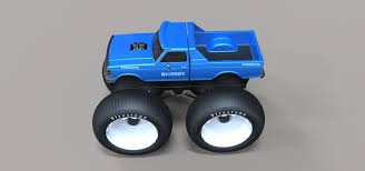 bigfoot remote control monster truck 3d bigfoot 5 largest monster truck cgtrader