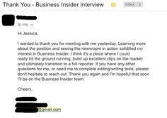 25 unique interview thank you email ideas on pinterest thank