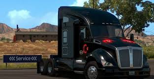2016 kenworth cabover kenworth t680 turkey flag skin mod american truck simulator mod