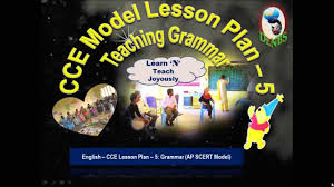 cce model lesson plan 5 teaching grammar youtube