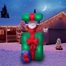 green santa outdoor decorations you ll wayfair