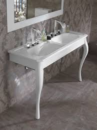 double washbasin cabinet free standing mdf traditional