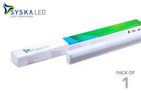 t5 led tube light syska 22 watts 3 in 1 t5 led tube light changes in 3 colours on