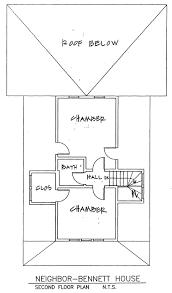 fall city historical neighbor bennett house national register plans 2nd floor