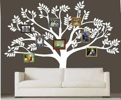 Vinyl Wall Stickers Custom Custom Family Tree Decal Vinyl Wall Decal Photo White Tree Decals