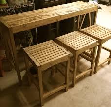 Garden Bar Table And Stools Bar Stool Wooden Pallet Bar Stools Ideas Bar Stools