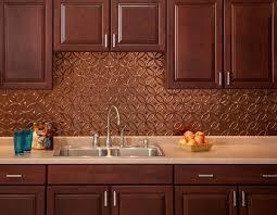 kitchen copper backsplash awesome copper backsplash highlights castro home and garden