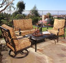 Backyard Collections Patio Furniture by California Patio Affordable Designer Outdoor Patio Furniture