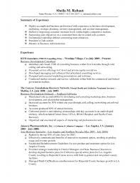 Federal Government Resume Example Sample Resume Health Insurance
