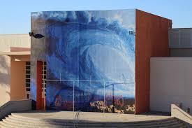 mbms wave mural la vista mbms mural vandalized with graffiti