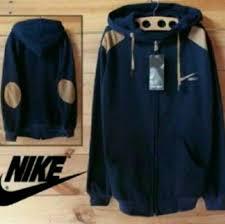 Jaket Nike Murah Bandung jual jaket nike patch navy jaket sweater pria wanita grosir murah