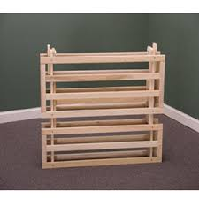 Folding Bed Frame Solid Wood Folding Bed Frame 797 Kdfs Rollaway Beds Shipped