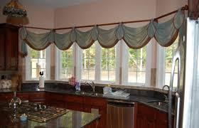kitchen bay window curtain ideas beautiful kitchen bay window decorating ideas photos liltigertoo