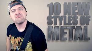 10 new styles of metal jared dines youtube