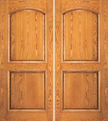 Two Panel Solid Wood Interior Doors Salvaged 34 U201d Oak Entry Door With Egg And Dart Trim U0026 Beveled Glass