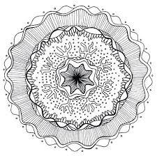 free printable christmas mandala coloring pages page to