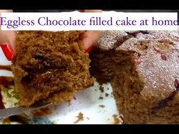 eggless chocolate cake recipe in microwave in 4 min easy eggless