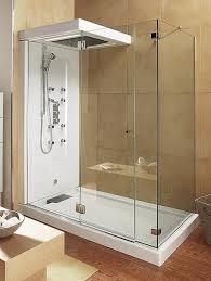 unique corner shower stalls lowes low threshold barrier free white