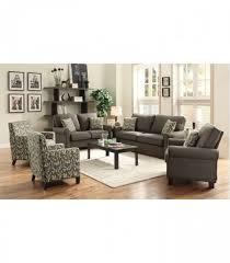 3 Pc Living Room Set 3 Pc Living Room Set Grey Living Room Sets 504781 Coaster Furniture