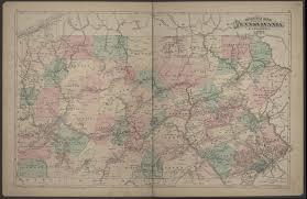 Maps Pennsylvania by Ancestor Tracks Caldwell U0027s Atlas Of Clalrion County 1877