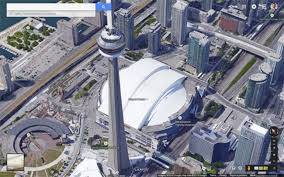 3d Maps Toronto Gets The 3d Treatment On Google Maps