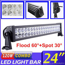 best jeep light bar 22 inch 120w car led light bar combo beam offroad work light for car