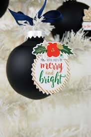 jen gallacher how to decorate christmas ornaments with stickers