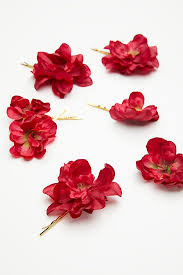 flower hair pins franny flower hair pins free