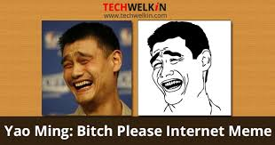 Meme Bitch Please - bitch please read the story of internet meme of yao ming s face
