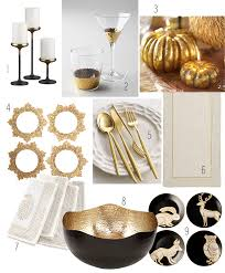 Change Table Accessories Set The Table This Thanksgiving With Black And Gold Accessories