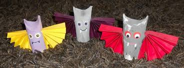 Scary Halloween Decorations Make At Home by Halloween Crafts For Kids 19 Upcycled Toilet Paper Rolls Ideas