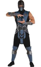 Skarlet Mortal Kombat Halloween Costume Mortal Kombat Scorpion Costume Adults Party