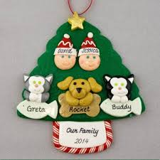 with 3 pets personalized ornament calliope designs
