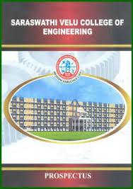 saraswathi velu college of engineering vellore admissions